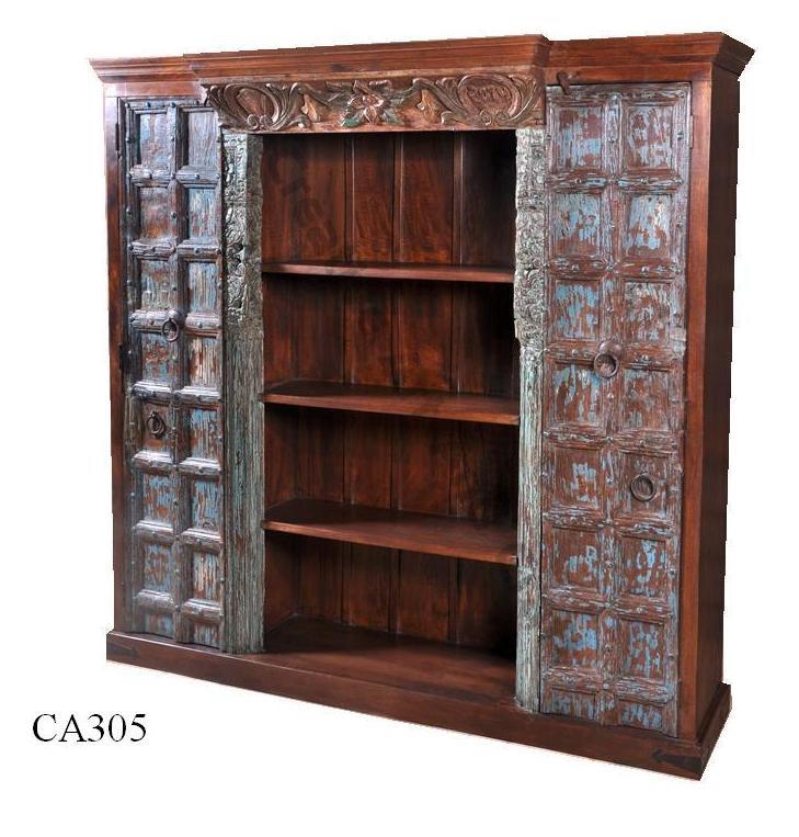 Wooden Handicraft Furniture Wooden Almirah Antique
